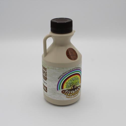 large sized plastic maple syrup jug