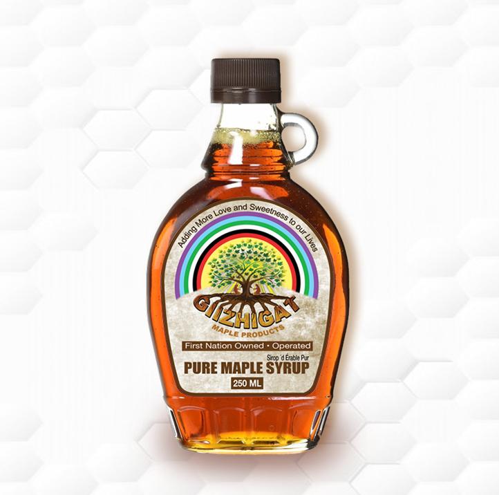 medium sized kent maple syrup jug