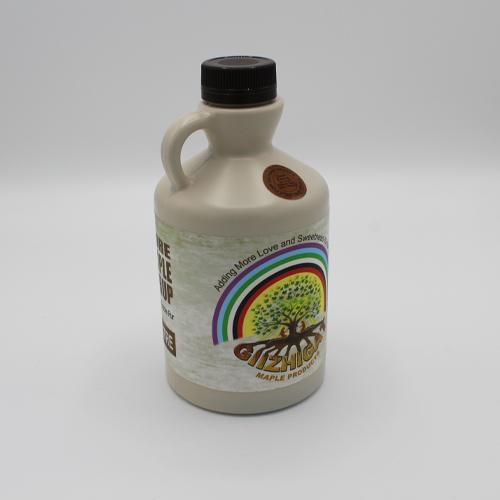 extra large sized plastic maple syrup jug
